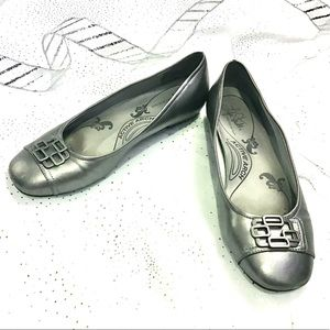 Silver Flats - Size 11